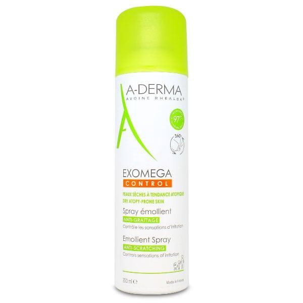 A-Derma Exomega Control Emollient Spray Ελέγχου Κατά του Κνησμού, 200ml