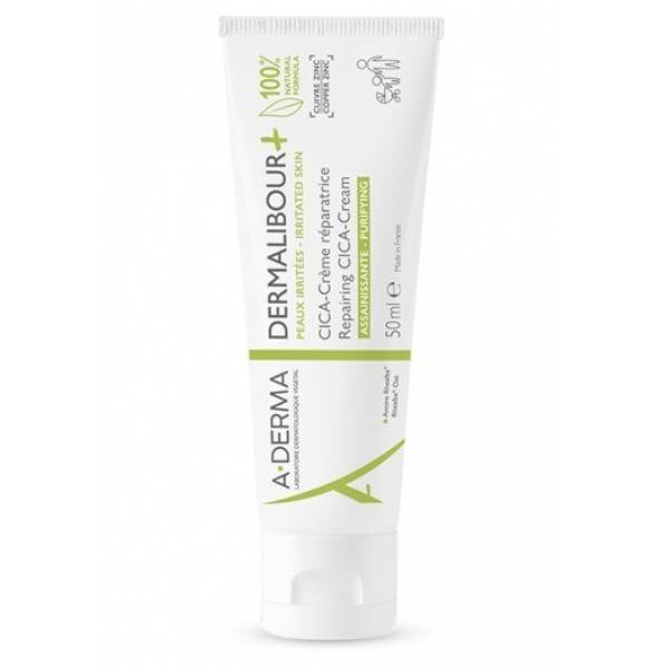A-Derma Dermalibour+ Cica-Cream Repairing, Επανορθωτική & Εξυγιαντική Κρέμα 50ml