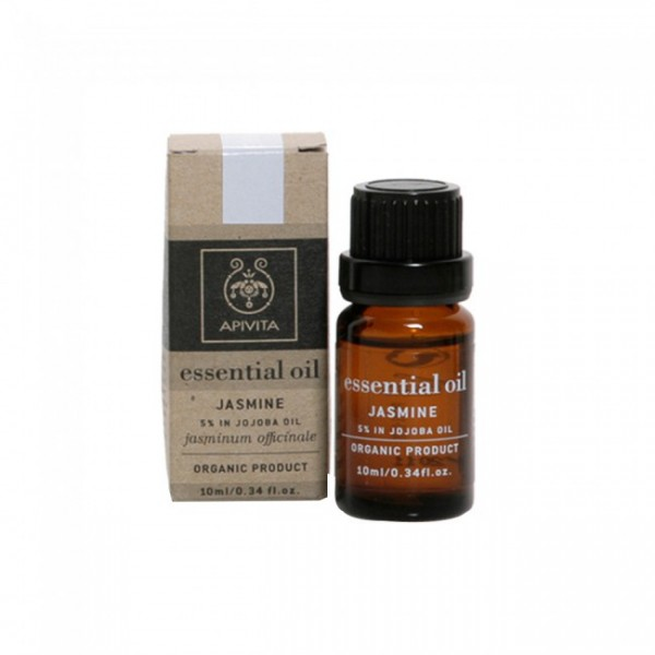 Apivita Essential Oil Γιασεμί - 10% σε Λάδι Jojoba -10ml.