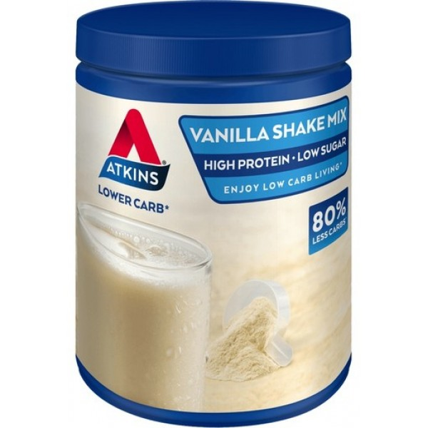 Atkins Shake Mix Powder Vanilla 370gr