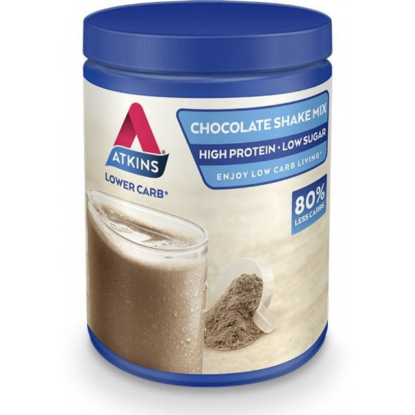 Atkins Shake Mix Powder Chocolate 370gr