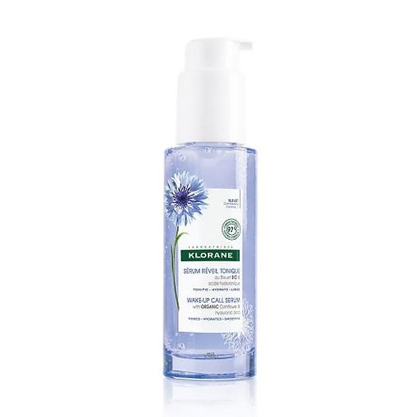 Klorane Wake-Up Call Serum Cornflower Water Serum, Ενυδατικός Ορός για Πρόσωπο & Λαιμό με Υαλουρονικό Οξύ, 50ml