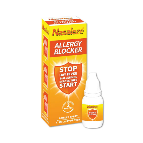 Nasaleze Allergy Blocker Εκνέφωμα για την Αλλεργική Ρινίτιδα, 200 χρήσεις