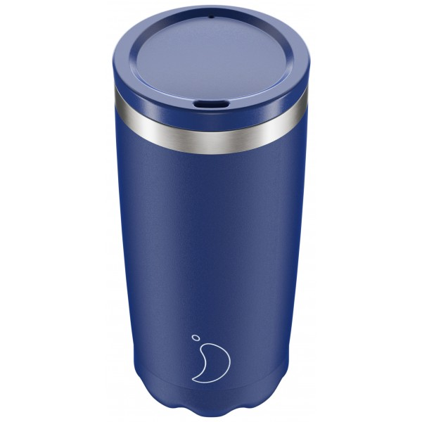 Chilly's Coffee Cup 500ml, Matte Edition Blue