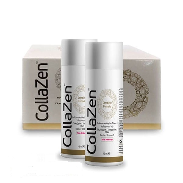 Collazen Complete Formula με Θαλάσσιο Κολλαγόνο Τύπου I, Γεύση Βατόμουρο 15x40ml