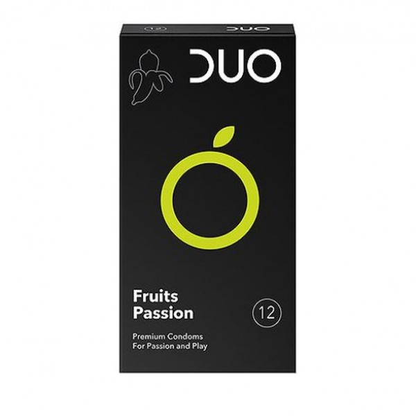DUO Fruits Passion Προφυλακτικά 12τμχ