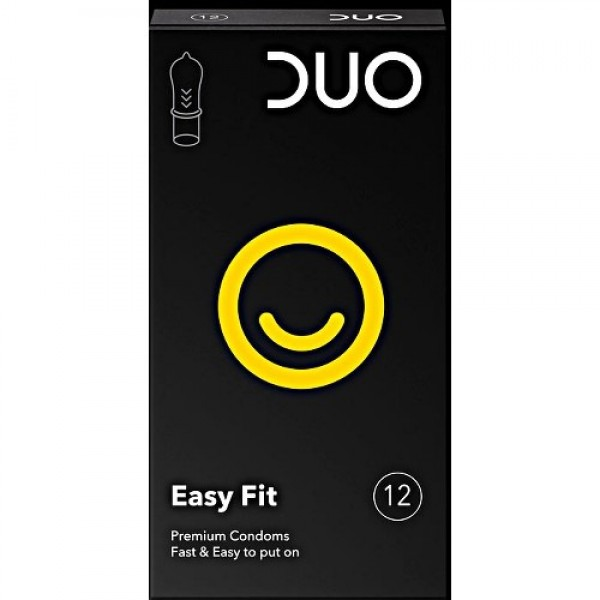 Duo Easy Fit, Προφυλακτικά 12τμχ