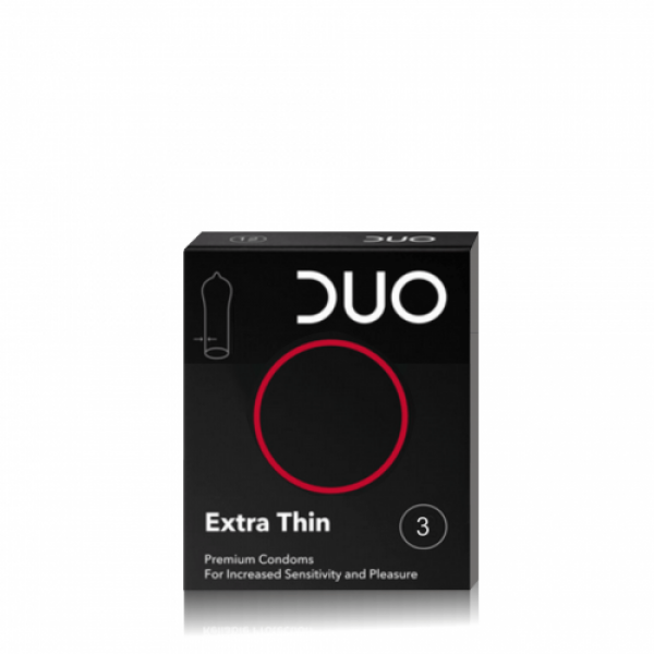 Duo Extra Thin Προφυλακτικά 3τμχ