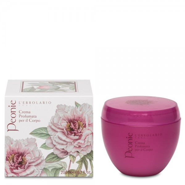 L' Erbolario Peonie Body Cream 200ml