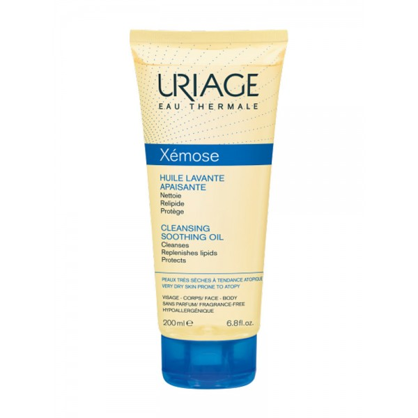 Uriage Xemose Soothing Cleansing Oil 200ml καθαριστικό έλαιο